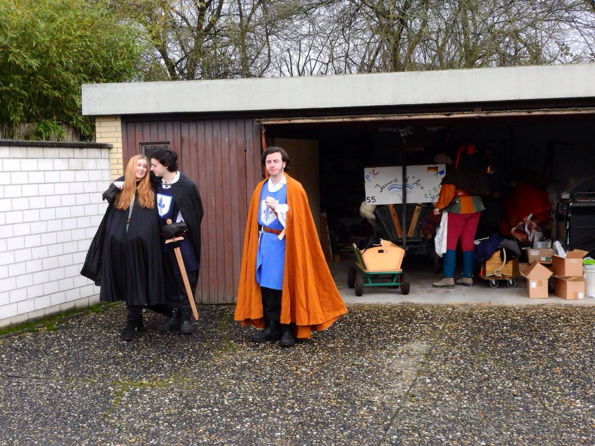 Jeanne d'Arc - Ritter und Troubadoure